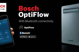 New Product Release – Bosch gas hot water with Bluetooth connectivity