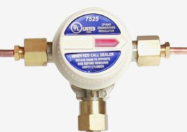 Automatic changeover switch valves